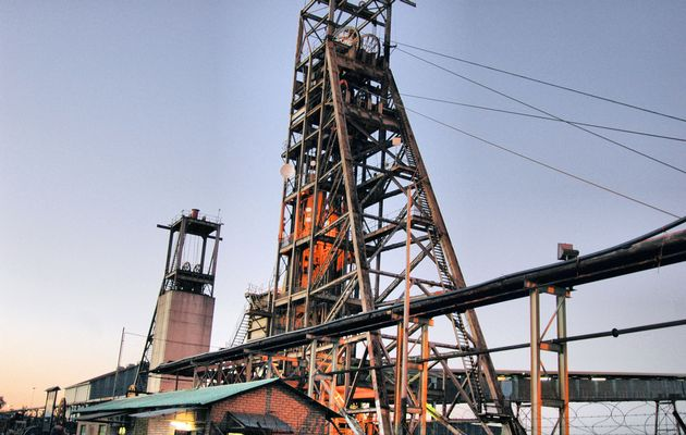 Mining is conducted at a depth of 1 452 metres at Joel plant, which processes ore. Photo: Reuben Goldberg