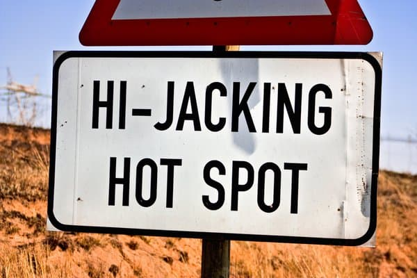 The community is urged to be more vigilant since hijackers are walking and driving around the area for no apparent reason. Photo: somadjinn