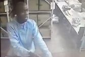 VIDEO: Armed robbery caught on CCTV