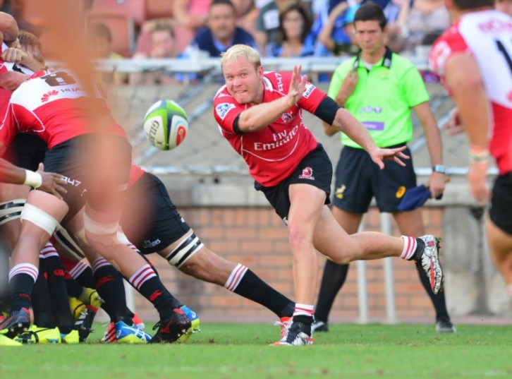 Ross Cronje of the Lions. Picture: Gallo Images