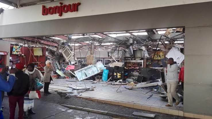 Five structural collapses in Joburg