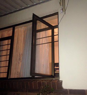 It's believed the suspects gained access through one of the windows. Photo: Supplied