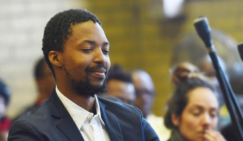 Mark Zinde, the son of former SABC board member Hope Zinde. File picture: Masi Losi. Credit: INDEPENDENT MEDIA