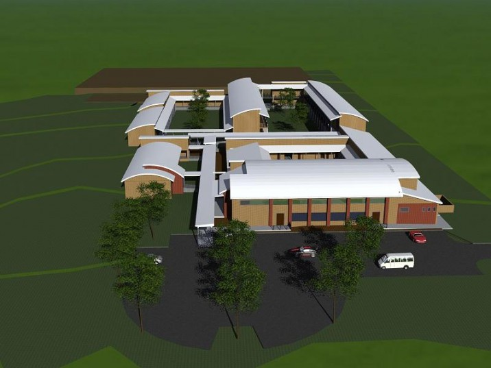 Artist's impressions of the new Umyezo Wama Apile High School in Grabouw. SUPPLIED: WCED