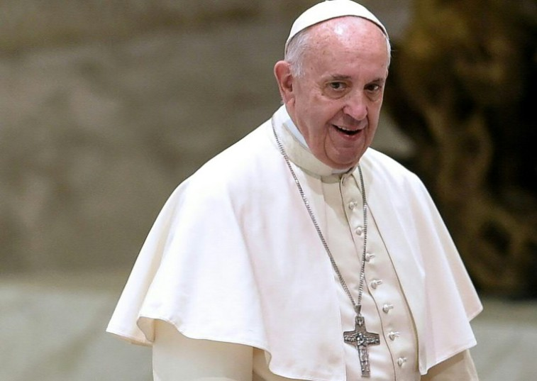 """AFP / <br />Pope Francis told pilgrims that he hoped the Rio Olympics would help Brazilians """"overcome difficult times...to build a more just and safer country"""""""