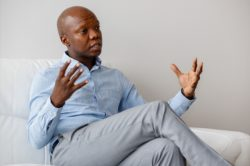 Tbo Touch says he questions a black pilot's qualifications and experience