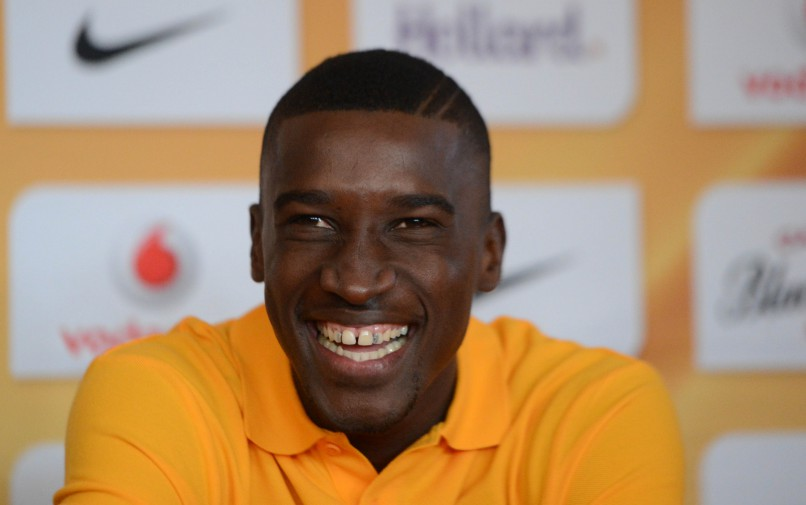 Siyanda Xulu of Kaizer Chiefs  during the Kaizer Chiefs Press Conference on 23 June 2015 at Kaizer Chiefs Village Pic Sydney Mahlangu/BackpagePix