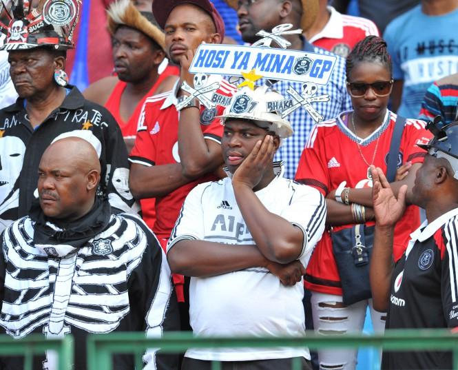 Orlando Pirates fans (Samuel Shivambu/BackpagePix)