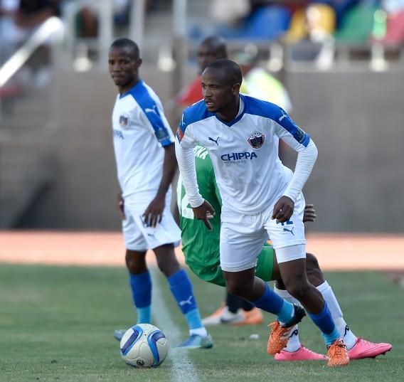 Xola Mlambo from Chippa United (Gerhard Steenkamp/Backpage Media)