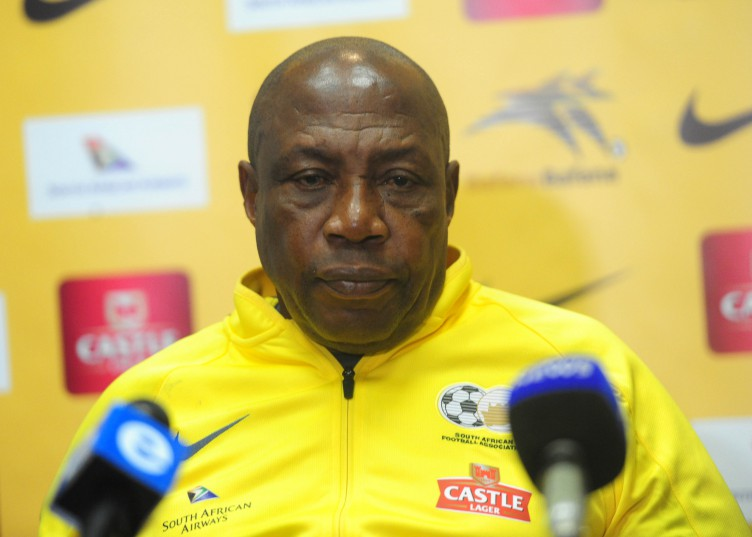 South Africa Head Coach Shakes Mashaba during a press conference at Milpark Garden Court. (Aubrey Kgakatsi/BackpagePix)