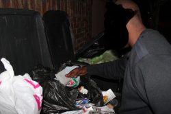Be careful what you throw in a bin