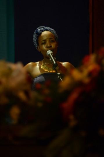 Poet Ntsiki Mazwai. (Photo by Gallo Images / Lefty Shivambu)