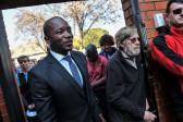DA leader Mmusi Maimane entering Capital Park Primary School voting station on August 3, 2016, in Pretoria. Picture: Jacques Nelles