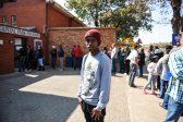 Bongani Kobinde (18) at Capital Park Primary School voting station, 3 August 2016, Pretoria. Picture: Jacques Nelles
