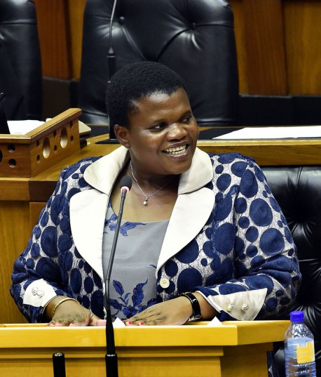 Communications Minister Faith Muthambi doesn't want to intervene at the SABC. Picture: GCIS