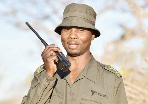 The Best Field Ranger of the year winner Anton Mzimba, at Balule Nature Reserve in Limpopo, during the Department of Environmental Affairs and Flauna consortium's media site visit to one of South Africa's top women anti-poaching unit. Picture: Nigel Sibanda