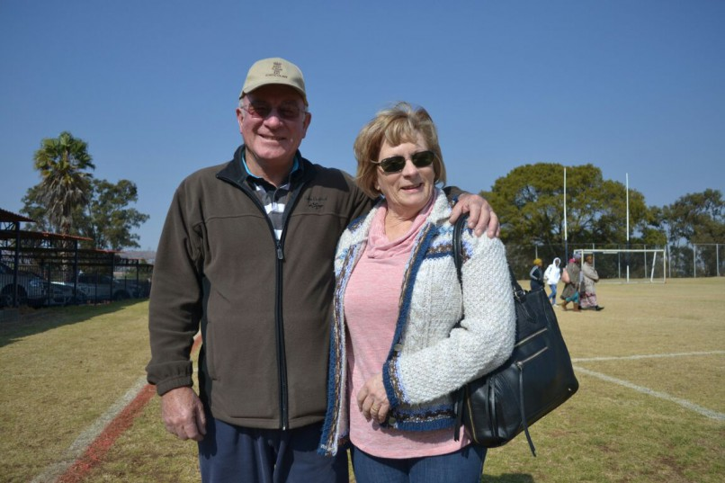 Brian and Sharon Nel said that the process was fantastic, easy and a pleasure compared to previous elections. Photo: Bedfordview Edenvale News