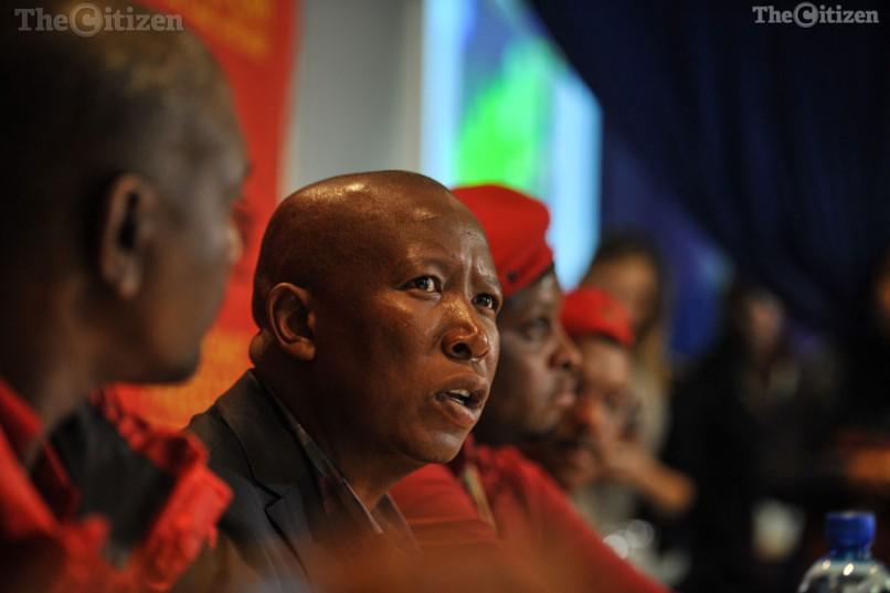 Julius Malema. Picture: Jacques Nelles