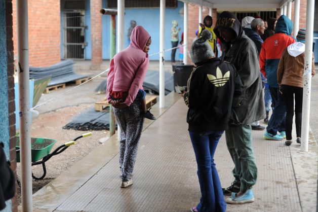 PIC IS FOR ILLUSTRATIVE PURPOSES ONLY. Residents queue up to vote, 3 August 2016, in Helenvale, in Nelson Mandela bay, Port Elizabeth, during the local government elections. Picture: Alaister Russell