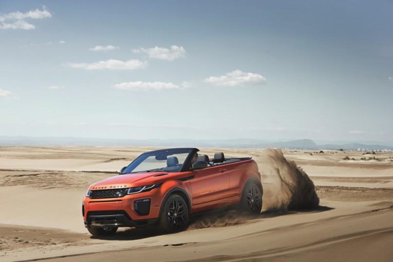 Land Rover Range Rover Evoque Convertible | Motorpress