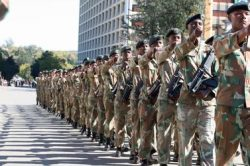 Sacked army man goes back to work