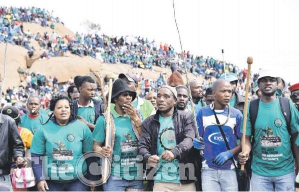 Lonmin remembers 44 people killed in Marikana