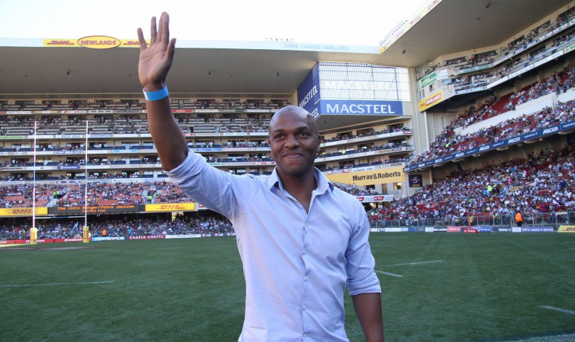 Former Manchester United player Quinton Fortune. (Photo by Shaun Roy / Gallo Images)