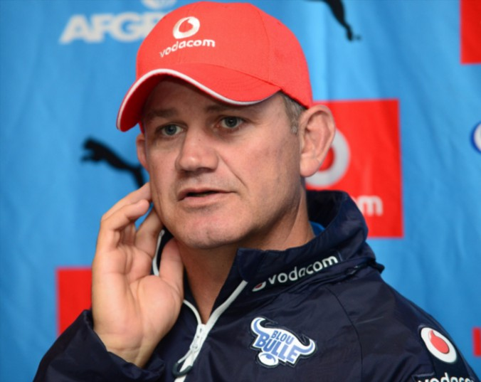 Nollis Marais (Coach) during the Vodacom Bulls training session and press conference at Loftus Versfeld on May 25, 2016 in Pretoria, South Africa. (Photo by Lee Warren/Gallo Images)