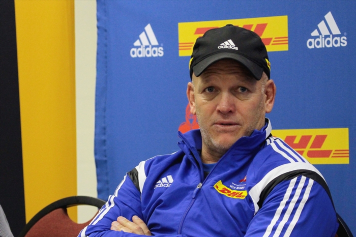 John Dobson (Head Coach) during the DHL Western Province media briefing at High Performance Centre on August 15, 2016 in Cape Town, South Africa. (Photo by Grant Pitcher/Gallo Images)