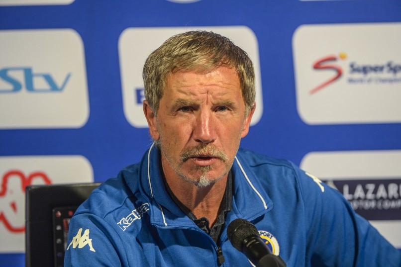 Supersport United coach Stuart Baxter (Photo by Sydney Seshibedi/Gallo Images)