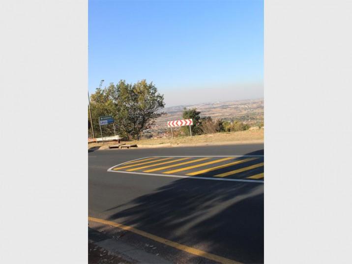 The new-look Doreen Road.