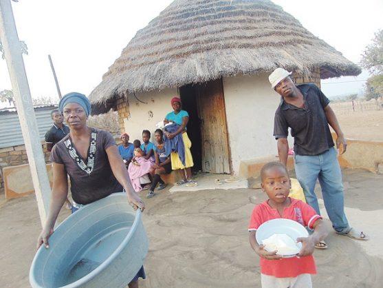 Racheal Malatji lives in a one-roomed mud hut with her five children and five grandchildren in the Bolobedu village, near Tzaneen.