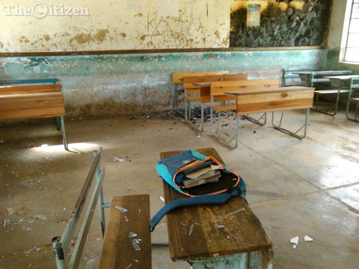 Vhudzani Secondary School in Vuwani. Picture: Steven Tau