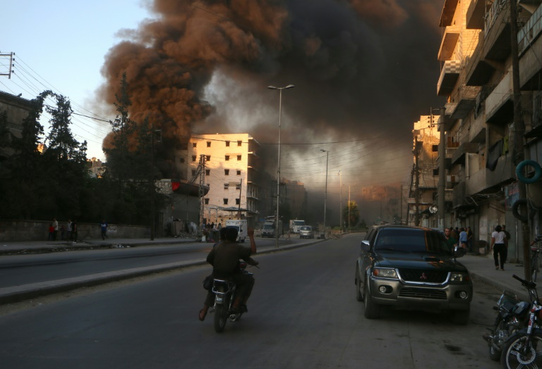 AFP/File / Fadi Al-Halabi<br />The Syrian Observatory for Human Rights said the majority of the over 500 killed since July 31 in Aleppo were rebels fighters and jihadists