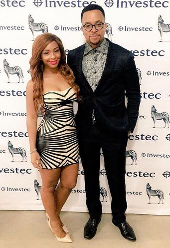 Boity and Maps pictured here attending an event. Image from Instagram