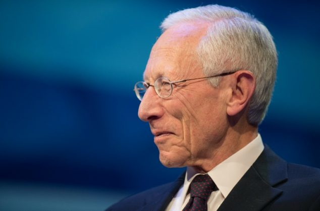 AFP/File / Jim Watson Federal Reserve Vice Chair Stanley Fischer, pictured October 9, 2014, said in a speech that the ingredients for a global slowdown exist, though he stressed that it was still hardly clear how they will evolve