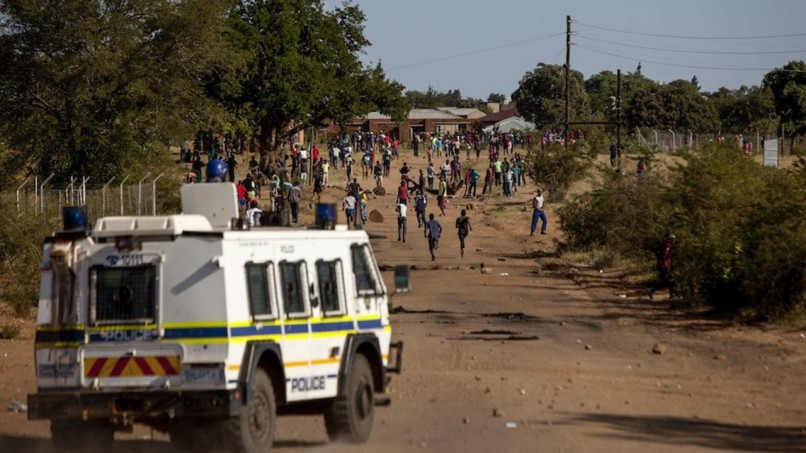 Vuwani protests from August 2016. Photo: Supplied
