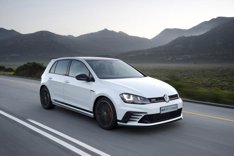 New Volkswagen Golf Clubsport  Photo: Quickpic