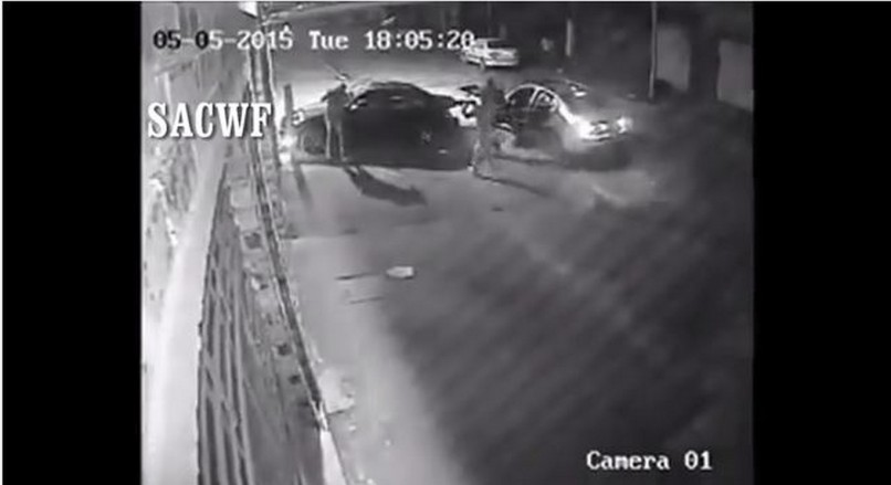 Footage of a hijacking that took place last year. Picture: North Eastern Tribune.