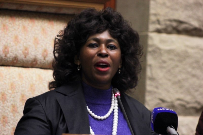 Ad hoc committee chairperson Makhosi Khoza. Picture: Gallo Images