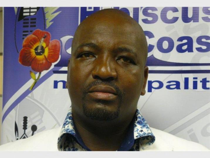 ANC Ward 5 councillor, Phumlani 'Duvet' Gumbi. PHOTO: Supplied