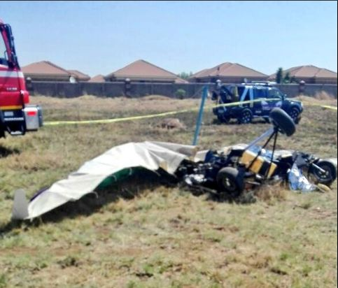 One person has died in a microlight crash in Alberton. Picture: Emer-G-Med.