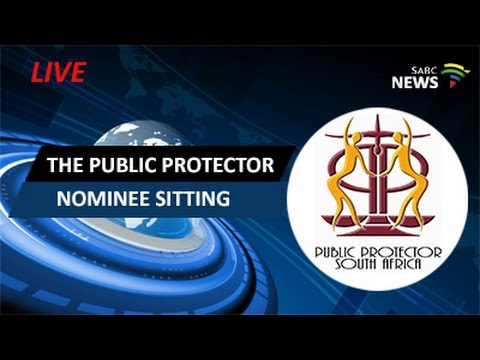 The Public Protector nominee sitting