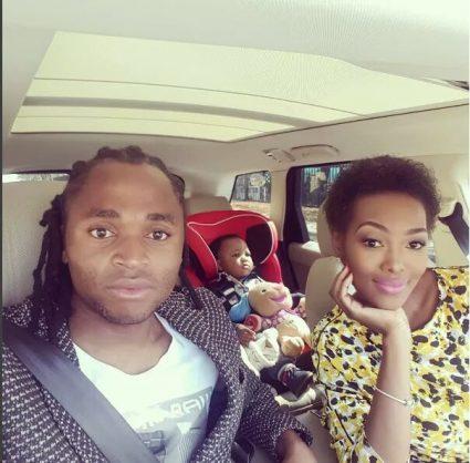 Siphiwe and Bokang Tshabalala. Image via Instagram.