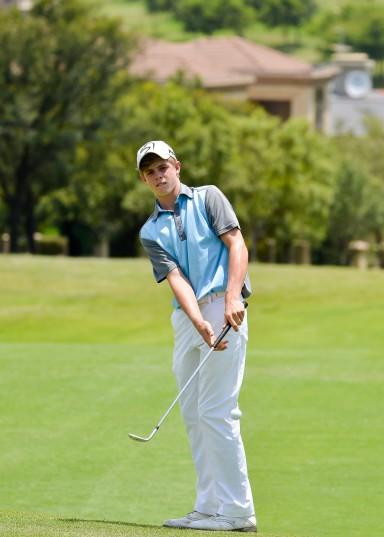 Martin Vorster from the Louis 57 Golf Academy; credit Ernest Blignault.