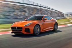 New Jaguar F-Type SVR bursts with raw power