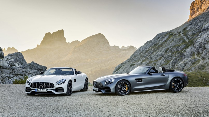 The new Mercedes-AMG GT Roadster| Supplied
