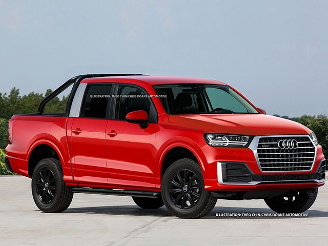 If Audi surely builds a bakkie, it could look like this| Supplied