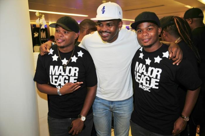 Major League DJz and DJ Cleo. Gallo images