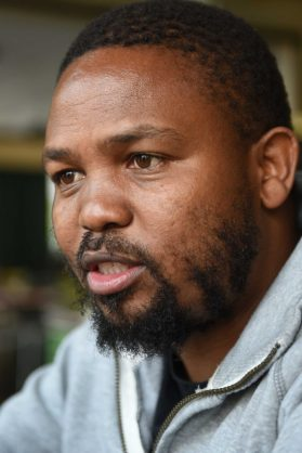 Andile Mngxitama speaks to The Citizen in Rosebank, 14 September 2016.  Picture: Neil McCartney